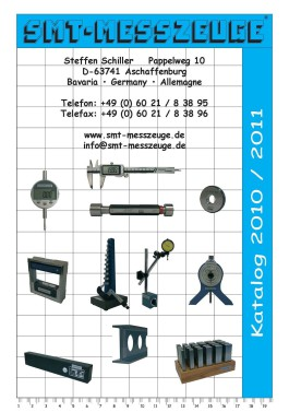 Messzeuge + Lehren Measuring Tools + Precision Gauges Katalog 2010/2011