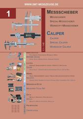 Messwerkzeuge Katalog  Measuring Tools Catalogue 2014/2015  Group 1