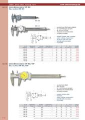 Messwerkzeuge Katalog  Measuring Tools Catalogue 2014/2015  Group 1.10