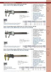 Messwerkzeuge Katalog  Measuring Tools Catalogue 2014/2015  Group 1.13