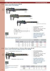Messwerkzeuge Katalog  Measuring Tools Catalogue 2014/2015  Group 1.16