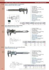 Messwerkzeuge Katalog  Measuring Tools Catalogue 2014/2015  Group 1.18