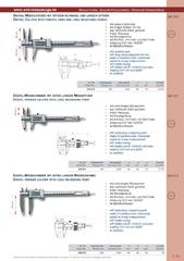 Messwerkzeuge Katalog  Measuring Tools Catalogue 2014/2015  Group 1.19