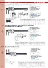 Messwerkzeuge Katalog  Measuring Tools Catalogue 2014/2015  Group 1.20