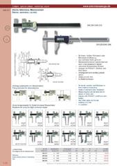 Messwerkzeuge Katalog  Measuring Tools Catalogue 2014/2015  Group 1.26