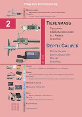 Messwerkzeuge Katalog  Measuring Tools Catalogue 2014/2015  Group 2