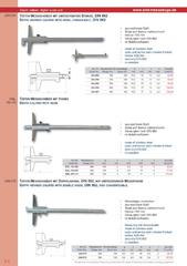 Messwerkzeuge Katalog  Measuring Tools Catalogue 2014/2015  Group 2.4