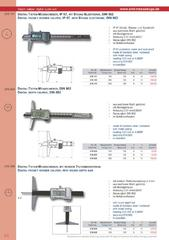 Messwerkzeuge Katalog  Measuring Tools Catalogue 2014/2015  Group 2.6