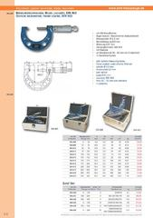 Messwerkzeuge Katalog  Measuring Tools Catalogue 2014/2015  Group 3.4