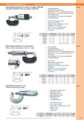 Messwerkzeuge Katalog  Measuring Tools Catalogue 2014/2015  Group 3.5