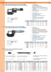 Messwerkzeuge Katalog  Measuring Tools Catalogue 2014/2015  Group 3.6