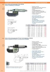 Messwerkzeuge Katalog  Measuring Tools Catalogue 2014/2015  Group 3.8