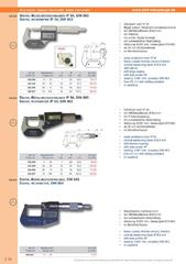 Messwerkzeuge Katalog  Measuring Tools Catalogue 2014/2015  Group 3.10