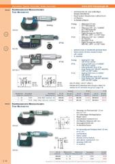 Messwerkzeuge Katalog  Measuring Tools Catalogue 2014/2015  Group 3.18