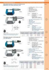 Messwerkzeuge Katalog  Measuring Tools Catalogue 2014/2015  Group 3.19