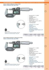 Messwerkzeuge Katalog  Measuring Tools Catalogue 2014/2015  Group 3.21