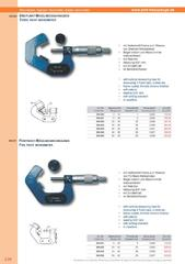 Messwerkzeuge Katalog  Measuring Tools Catalogue 2014/2015  Group 3.24