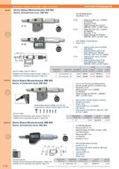 Messwerkzeuge Katalog  Measuring Tools Catalogue 2014/2015  Group 3.28