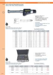 Messwerkzeuge Katalog  Measuring Tools Catalogue 2014/2015  Group 3.34