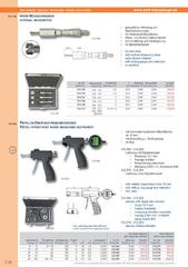 Messwerkzeuge Katalog  Measuring Tools Catalogue 2014/2015  Group 3.38