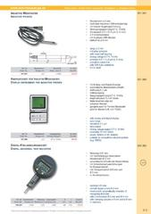 Messwerkzeuge Katalog  Measuring Tools Catalogue 2014/2015  Group 4.3