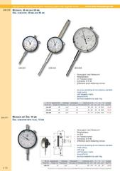 Messwerkzeuge Katalog  Measuring Tools Catalogue 2014/2015  Group 4.10