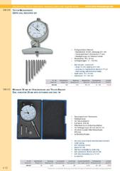 Messwerkzeuge Katalog  Measuring Tools Catalogue 2014/2015  Group 4.12