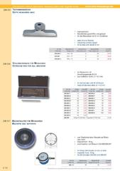Messwerkzeuge Katalog  Measuring Tools Catalogue 2014/2015  Group 4.14