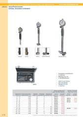 Messwerkzeuge Katalog  Measuring Tools Catalogue 2014/2015  Group 4.16