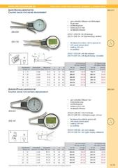 Messwerkzeuge Katalog  Measuring Tools Catalogue 2014/2015  Group 4.19