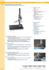 Messwerkzeuge Katalog  Measuring Tools Catalogue 2014/2015  Group 4.30
