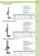 Messwerkzeuge Katalog  Measuring Tools Catalogue 2014/2015  Group 5.3
