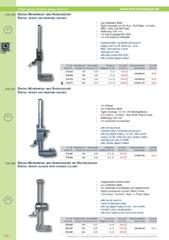 Messwerkzeuge Katalog  Measuring Tools Catalogue 2014/2015  Group 5.4