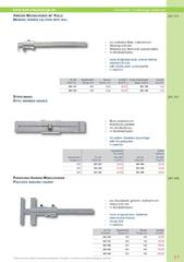 Messwerkzeuge Katalog  Measuring Tools Catalogue 2014/2015  Group 5.7