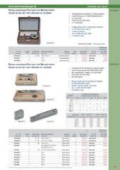 Messwerkzeuge Katalog  Measuring Tools Catalogue 2014/2015  Group 6.7