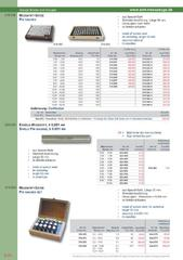 Messwerkzeuge Katalog  Measuring Tools Catalogue 2014/2015  Group 6.20