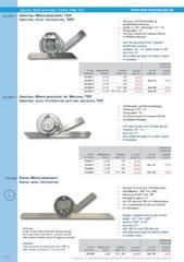 Messwerkzeuge Katalog  Measuring Tools Catalogue 2014/2015  Group 7.8
