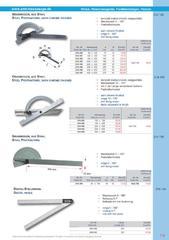 Messwerkzeuge Katalog  Measuring Tools Catalogue 2014/2015  Group 7.9