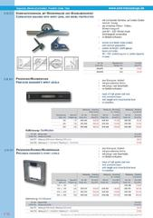 Messwerkzeuge Katalog  Measuring Tools Catalogue 2014/2015  Group 7.10