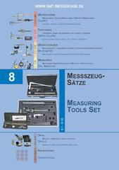 Messwerkzeuge Katalog  Measuring Tools Catalogue 2014/2015  Group 8