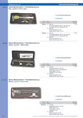 Messwerkzeuge Katalog  Measuring Tools Catalogue 2014/2015  Group 8.8