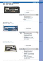 Messwerkzeuge Katalog  Measuring Tools Catalogue 2014/2015  Group 8.9