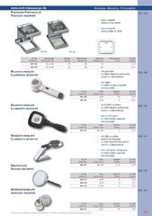 Messwerkzeuge Katalog  Measuring Tools Catalogue 2014/2015  Group 9.3