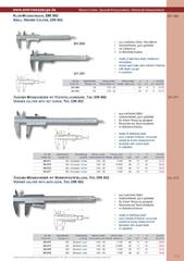 Messwerkzeuge Katalog  Measuring Tools Catalogue 2014/2015  Group 1.3