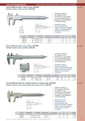 Messwerkzeuge Katalog  Measuring Tools Catalogue 2014/2015  Group 1.5
