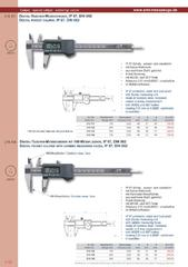 Messwerkzeuge Katalog  Measuring Tools Catalogue 2014/2015  Group 1.12