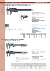 Messwerkzeuge Katalog  Measuring Tools Catalogue 2014/2015  Group 1.14