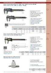 Messwerkzeuge Katalog  Measuring Tools Catalogue 2014/2015  Group 1.17