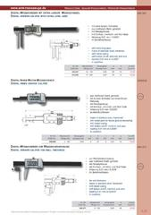 Messwerkzeuge Katalog  Measuring Tools Catalogue 2014/2015  Group 1.21