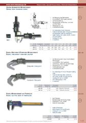 Messwerkzeuge Katalog  Measuring Tools Catalogue 2014/2015  Group 1.25